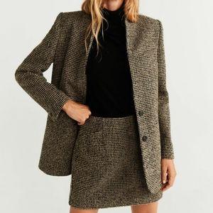 2-piece Wool/Tweed Skirt Suit